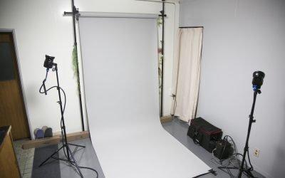 スタジオ撮影が可能になりました